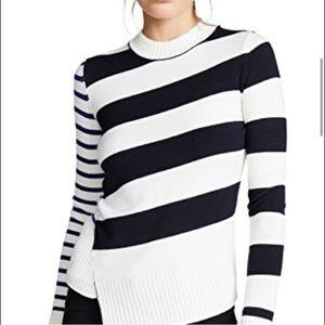 NWOT Jason Wu Striped Wool Sweater sz XXL